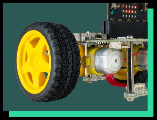GiggleBot Motors and Wheels