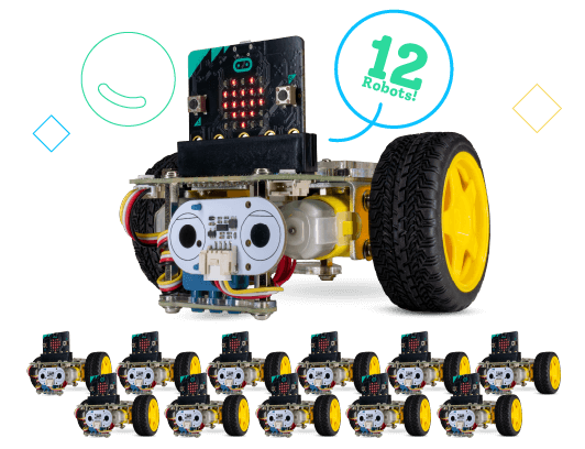 GiggleBot Classroom Kit - includes 12 robots and more.