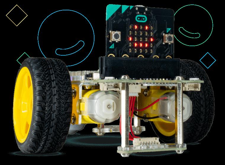 GiggleBot micro:bit robot.