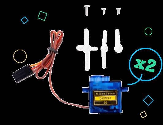 GiggleBot Servo Motors