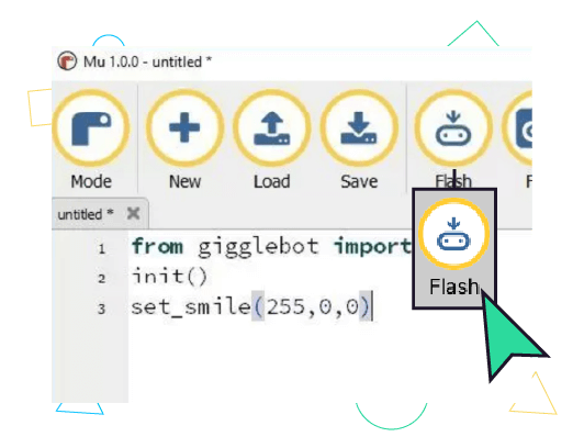 Sample python program - see text below.